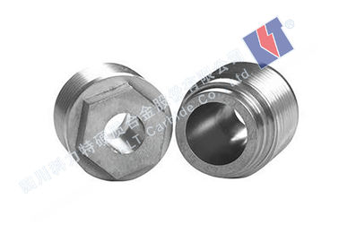 China Ungrounded / Ground Tungsten Carbide Nozzle Excellent Impact Resistance supplier