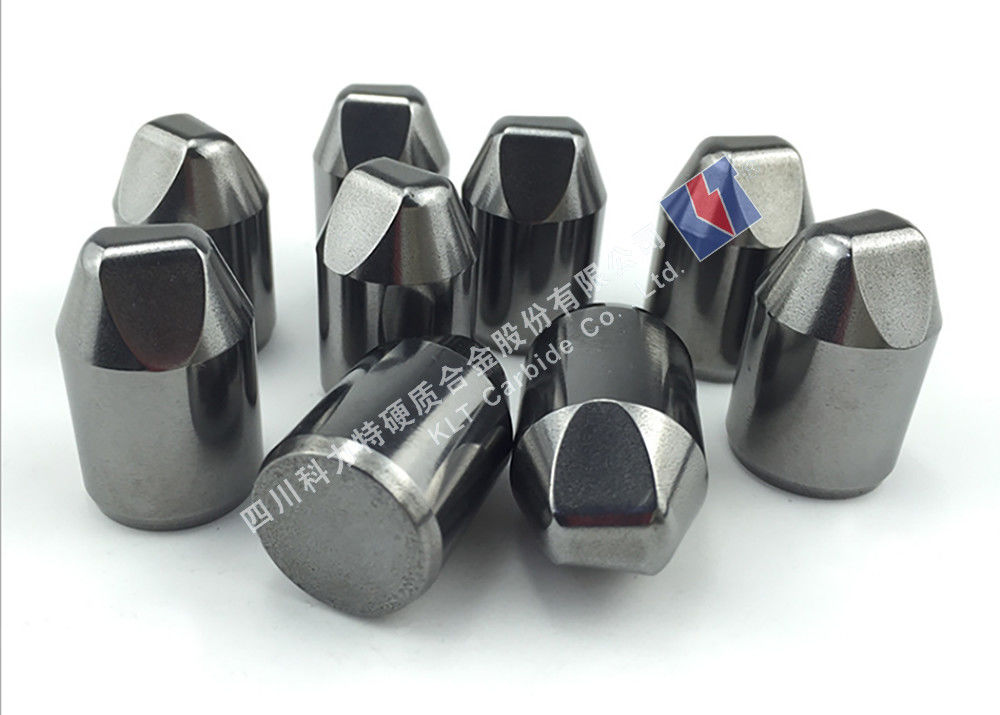 Long Lifetime Cemented Carbide Buttons With High Impact Toughness