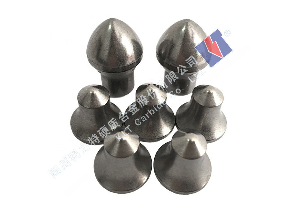 Yg6/Yg8/Yg10 Grade Cemented Carbide Inserts , Road Safety Milling Inserts