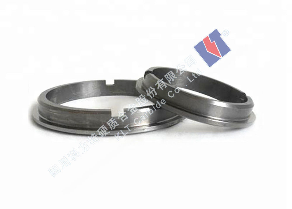 Wc+Co/Wc+Ni Tungsten Carbide Seal Rings A1 For Oil Refineries / Petrochemical Plants