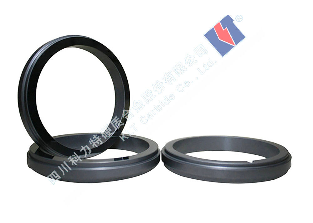 Solid Tungsten Carbide Alloy Mechanical Shaft Seal Ring Oem Accepted