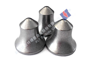 Parabolic Tungsten Carbide Buttons Carbide Milling Inserts Engineering Accessories
