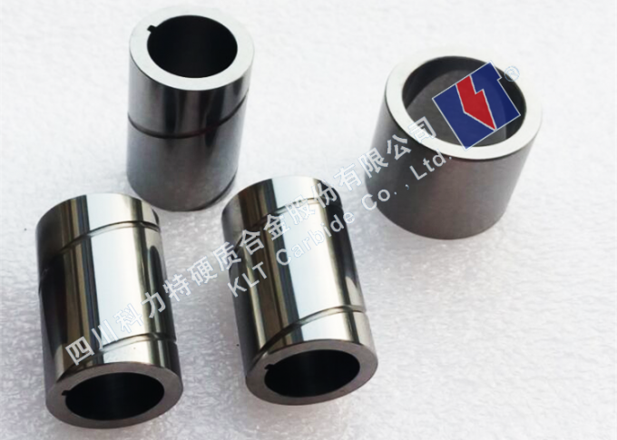 Polished Oil Pump Bushing YG8 Tungsten Carbide Sleeve